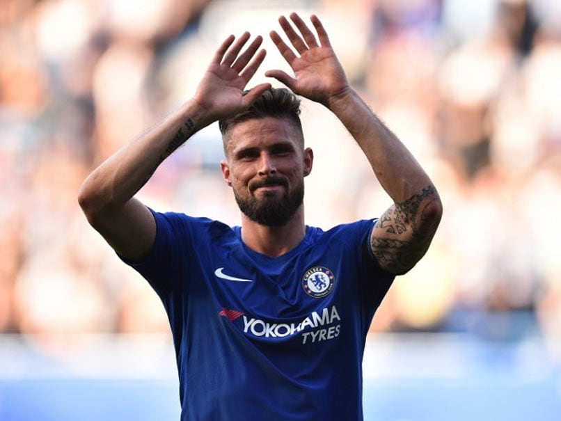 Premier League: Olivier Giroud Sinks Liverpool To Keep Chelsea