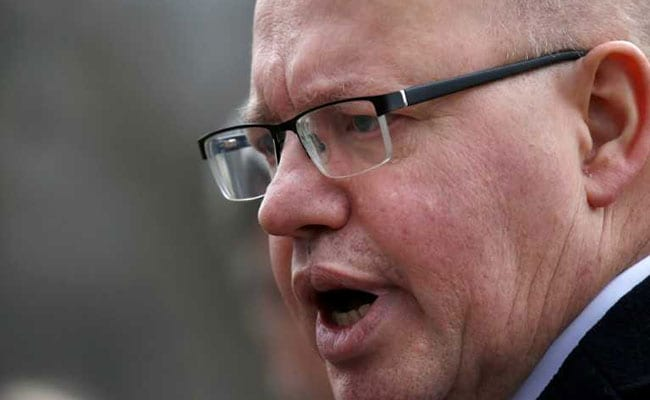 German Minister Peter Altmaier Urges EU Unity In Trade Conflict With US