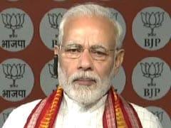 चिकमगलुर में बोले पीएम मोदी, केवल सत्ता में रहने के लिए कांग्रेस खेल रही है 'खतरनाक खेल'