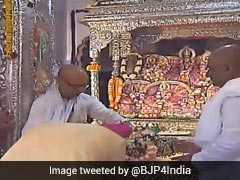 PM Modi Performs Special Prayers At Janaki Temple In Nepal