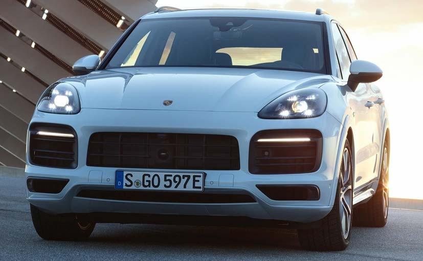 Porsche Cayenne E-Hybrid With 462 BHP Revealed