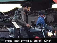 'साहो' की शूटिंग की तस्वीरें हुईं लीक, कुछ ऐसे नजर आए 'बाहुबली' प्रभास... देखें Photo