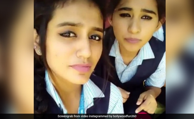VIDEO: कैमरे के सामने प्रिया प्रकाश बोलीं, 'मेरे सइयां जी से आज मैंने ब्रेकअप कर लिया...'
