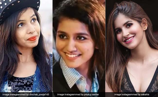 प्रिया प्रकाश ही नहीं ये हैं वो 4 लड़कियां जो रातों-रात बन गईं इंटरनेट सेंसेशन