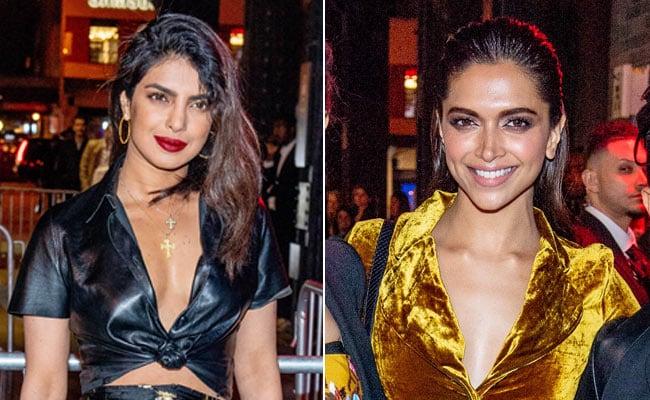 Met Gala 2018 After-Party: Priyanka Chopra Femme Fatale In Black, Deepika Padukone Shines In Gold