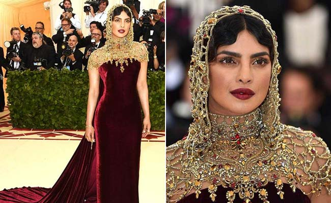Priyanka Chopra's Met Gala outfit has an Indian connection