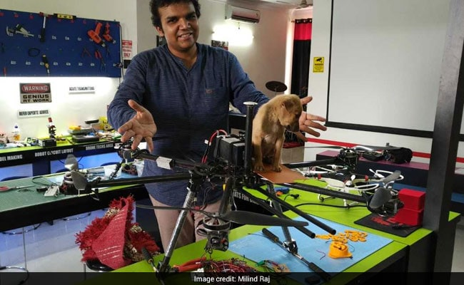 puppy drone rescue lucknow 650 3