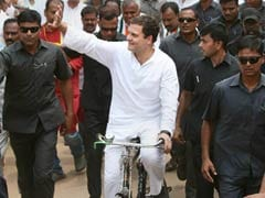 Karnataka Assembly Elections: To Protest Rising Fuel Prices, Rahul Gandhi Rides Bicycle, Targets Centre
