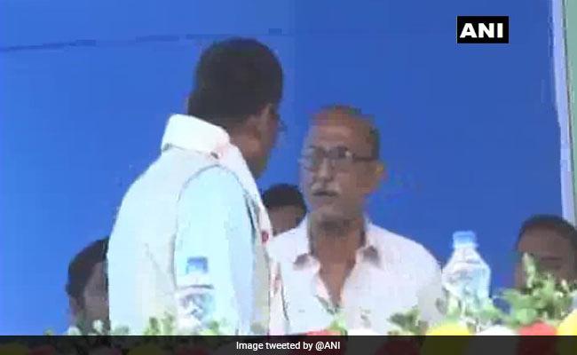 Retired Assam Teacher Was Speaking About Bad Roads, Minister Blocked Mic