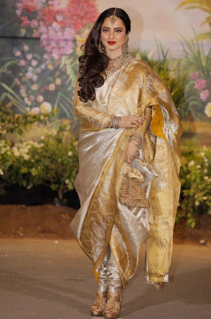 Pants or Dhoti design saree
