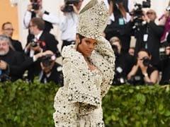 Rihanna, Dressed As The Pope, Won The Met Gala - Again