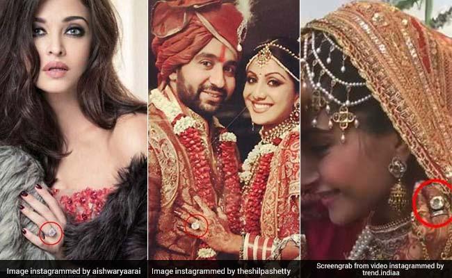 10 एक्ट्रेसेस जिनकी शादी की अंगूठी हैं सबसे महंगी, इनके सामने सोनम और अनुष्का की Ring भी फेल