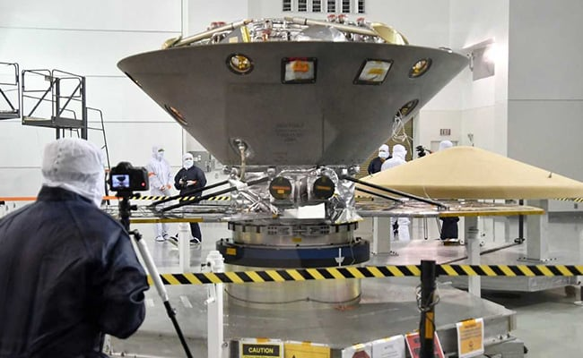 Nasa has just launched its latest spacecraft to Mars to measure 'Marsquakes'