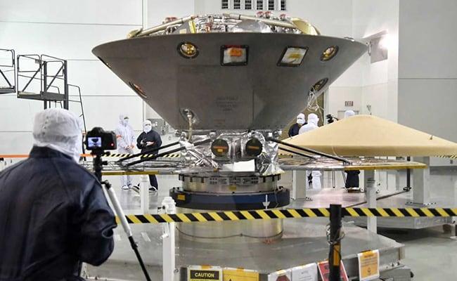 robotic lander mars