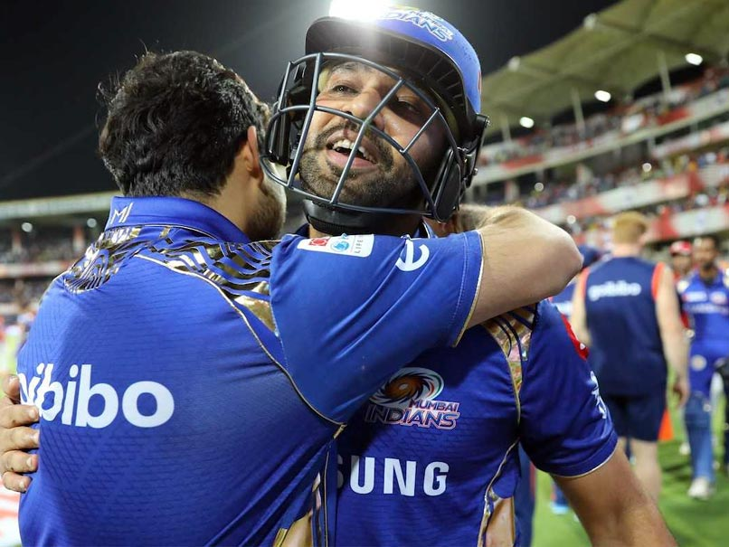 IPL: Rohit Sharma Breaks Two Records In Mumbai Indians' Win Over Kings XI Punjab