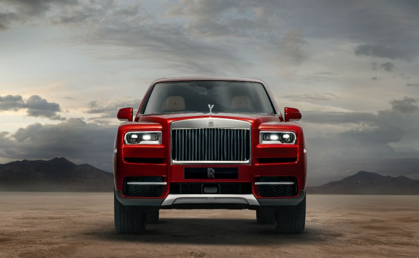 Rolls Royce Cullinan Super Luxury Suv Makes World Debut Ndtv
