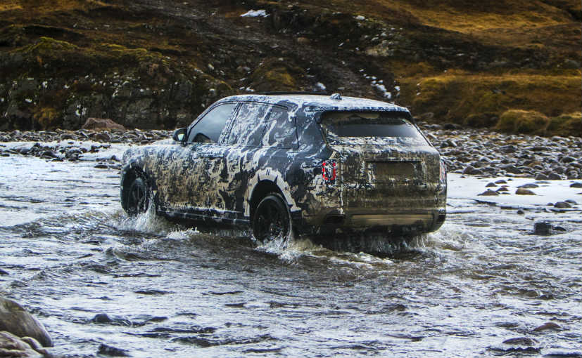 Rolls-Royce Rolls Out Its Cullinan All-Terrain Vehicle