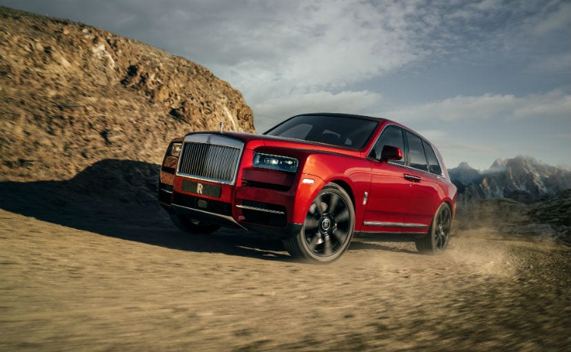 The Cullinan is the first ever SUV from Rolls-Royce