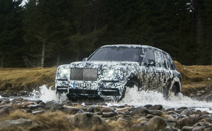 Rolls-Royce Cullinan OFFICIAL Photos LEAK out ahead of debut