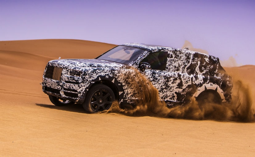 Rolls-Royce Cullinan is an Action Saxon SUV