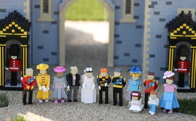 For Prince Harry, Meghan Markle's Royal Wedding, Sweet Tribute From Lego