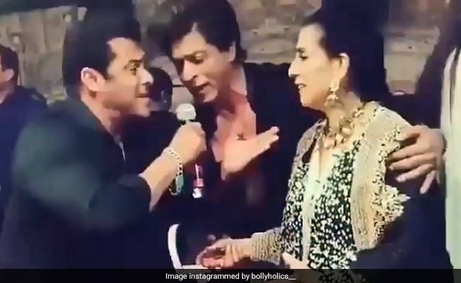 सलमान और शाहरुख ने गाया अनिल कपूर की पत्नी के लिए ऐसा गाना कि सुनीता बोलीं- Control Them