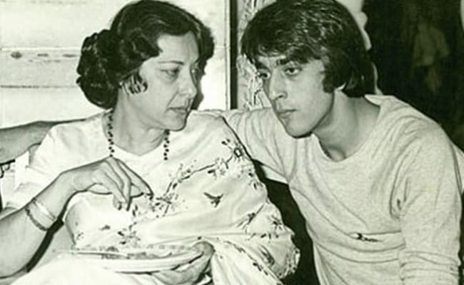 sanjay dutt shares throwback pic with mom nargis captions it i