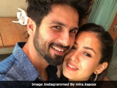 This Pic Of Shahid Kapoor And Mira Rajput Is Pure Love. 'No Filter' Needed
