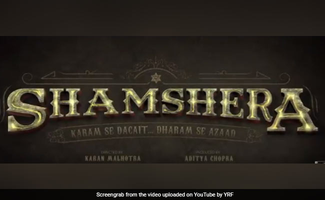 Shamshera: Ranbir Kapoor Aces The Dacoit Look