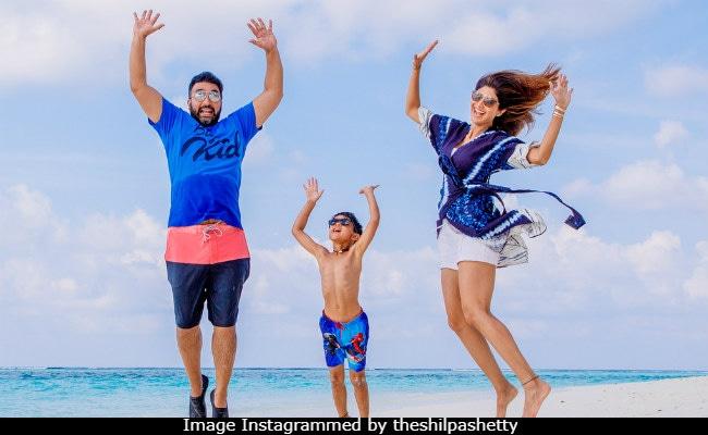 When In Maldives: Shilpa Shetty's Vacation Pics Will Make You Miss The Sea