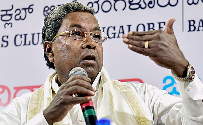 """Restricting Media From Assembly """"Fatal"""" For Democracy: Siddaramaiah"""