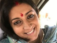 Smriti Irani Sat Through The <i>Avengers: Infinity War</i> End Credits Like The Rest Of Us