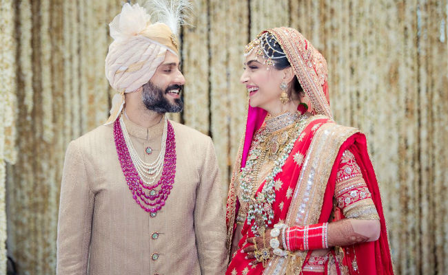 Sonam Kapoor And Anand Ahuja Are Married. See Wedding Pic