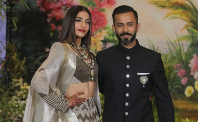 Sonam Kapoor And Anand Ahuja In Sneakers At Their Wedding Reception