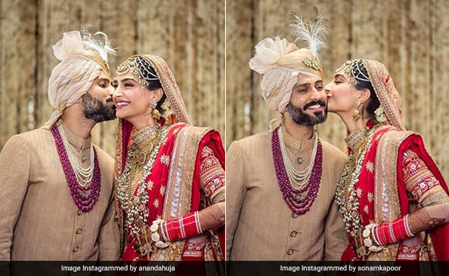 Sonam Kapoor And Anand Ahuja Share Matching Posts. The Internet Is Smitten