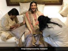 Sonam Kapoor-Anand Ahuja Wedding: Inside The Rocking <i>Mehendi</i>
