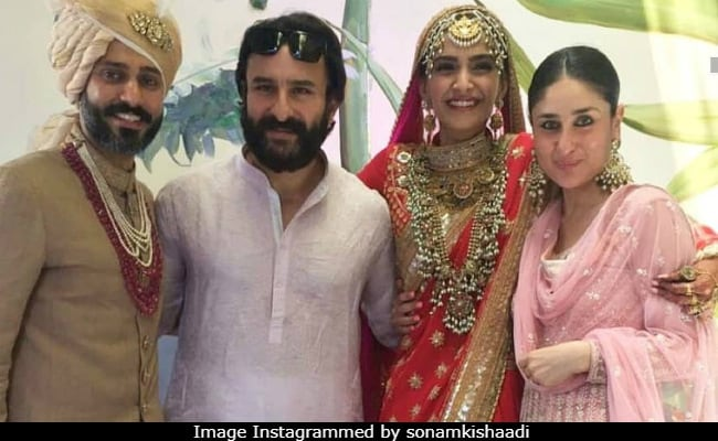 Inside Pics From Sonam Kapoor And Anand Ahujas Fun Filled Wedding