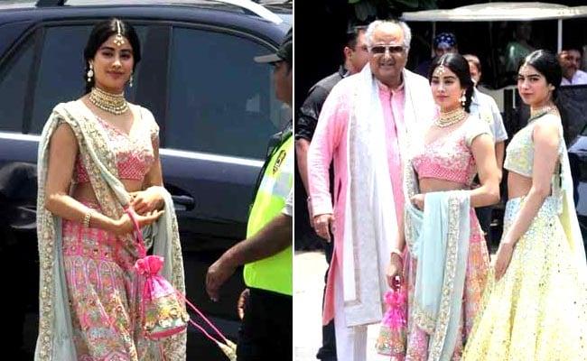 Sonam Kapoor Marriage: सोनम की शादी में छाया श्रीदेवी की बेटियों का स्टाइल, यूं दिखीं जाह्नवी और खुशी