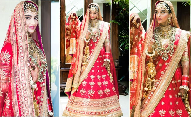 sonam kapoor wedding ndtv