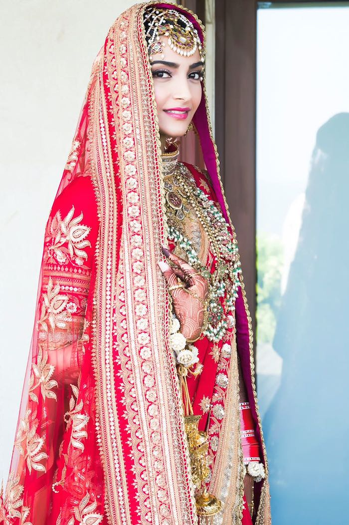 Image result for sonam kapoor wedding pics