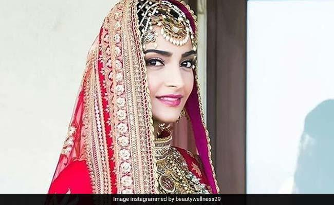 Sonam weds Anand: 'पद्मावत' और 'बाहुबली' से इंस्पायर्ड है सोनम कपूर का वेडिंग लुक