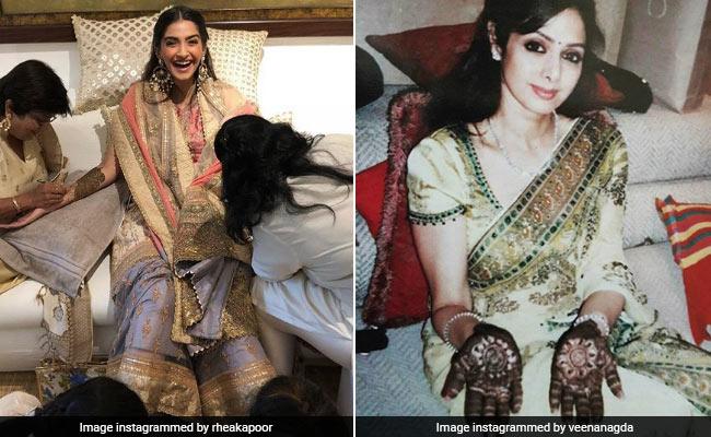Sonam Di Wedding: ये है बॉलीवुड की मशहूर 'मेहंदीवाली', जो हमेशा रचती थी श्रीदेवी के हाथ