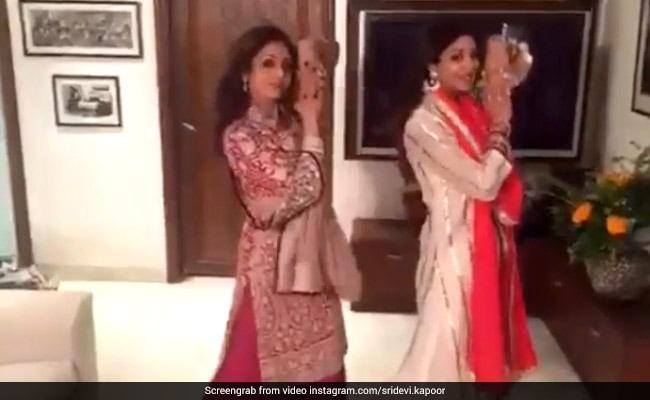 श्रीदेवी ने किया था सोनम कपूर के गाने पर डांस, Viral हुआ वीडियो