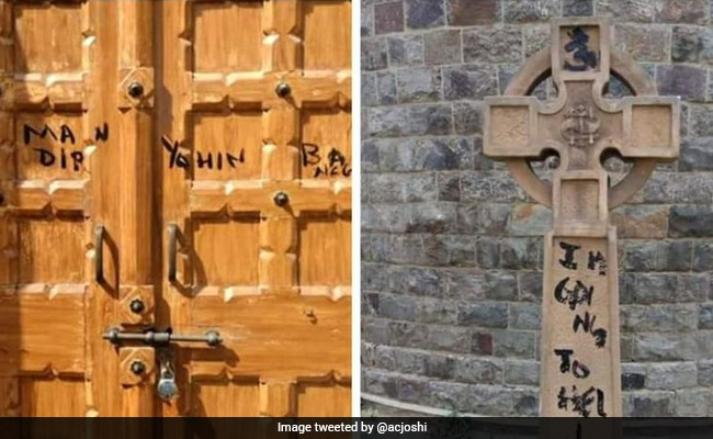 'There Should Be A Temple Here': Vandalism Hits St Stephen's College Chapel