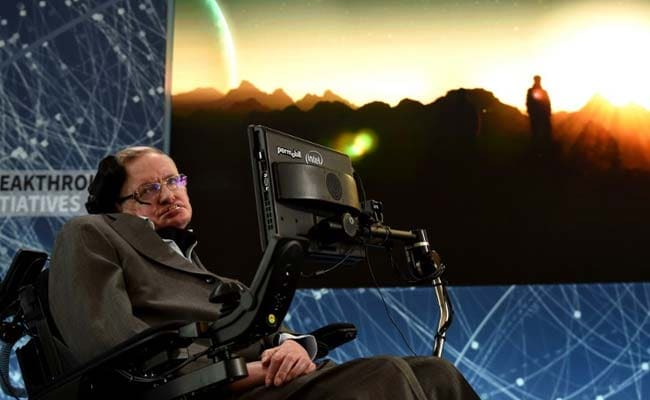 There's No God. No One Directs Our Fate: Stephen Hawking In His Last Book