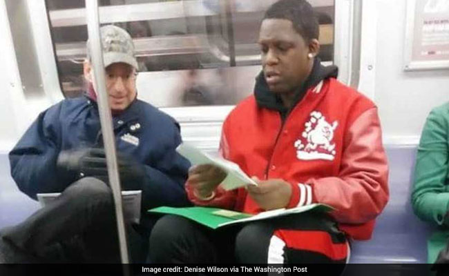 He Needed Help With Son's Math Homework - Got It From Stranger On Subway