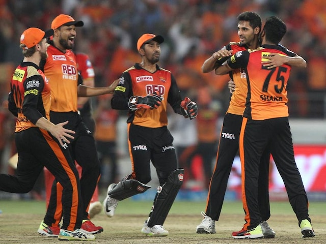 IPL 2018: Superb SunRisers Hyderabad Defend Yet Another Low Total To Beat Royal Challengers Bangalore