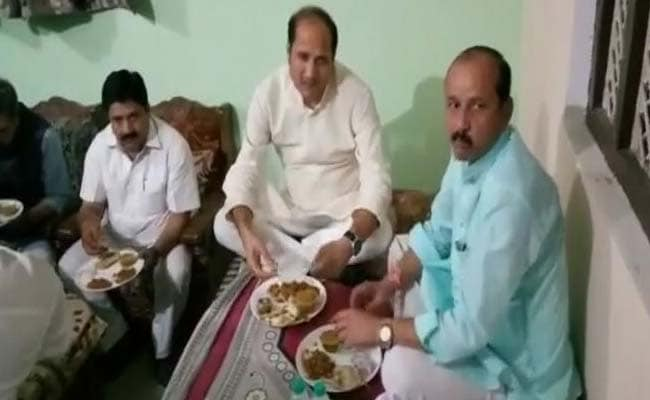 UP Minister Denies He Gatecrashed Dalit Family Dinner, Ordered In