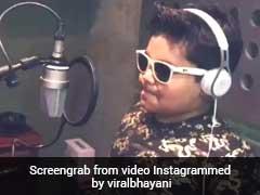 बप्पी दा के पोते ने गाया इंग्लिश सॉन्ग, स्टाइल पर फिदा हुए फैन... देखें वीडियो