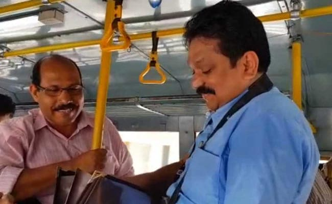 On Labour Day, Kerala's Top Transport Officer Tomin